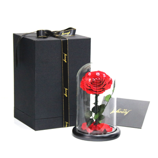 Preserved Rose in S Size Glass